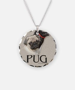 Two Pugs Necklace