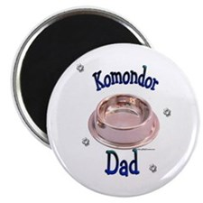 Komondor Dad Magnet