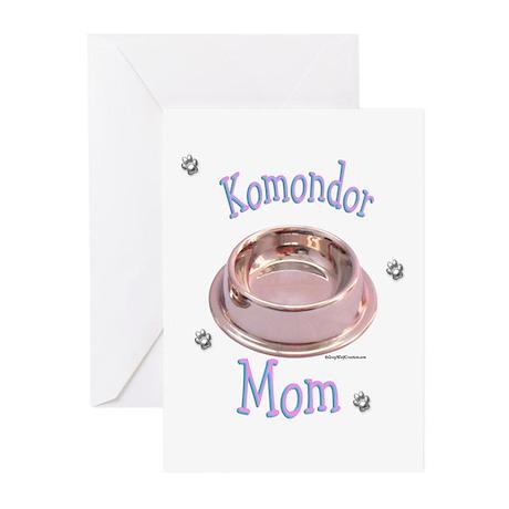 Komondor Mom Greeting Cards (Pk of 10)