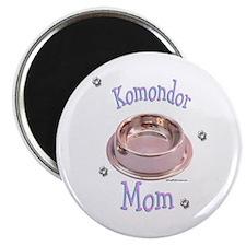 Komondor Mom Magnet