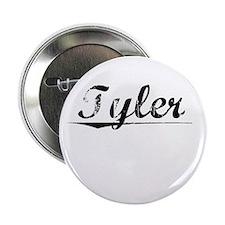 """Tyler, Vintage 2.25"""" Button"""