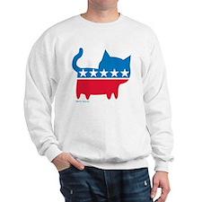 THE CAT PARTY Sweatshirt