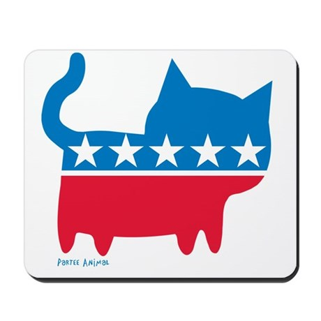 THE CAT PARTY Mousepad