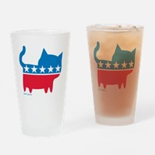 THE CAT PARTY Drinking Glass