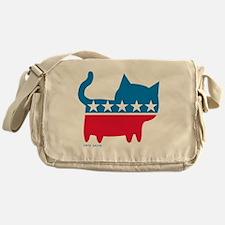 THE CAT PARTY Messenger Bag
