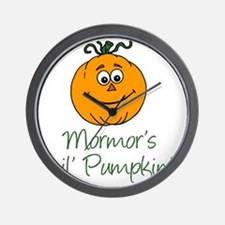 Mormors Little Pumpkin Wall Clock