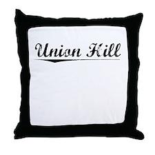 Union Hill, Vintage Throw Pillow