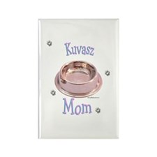 Kuvasz Mom Rectangle Magnet