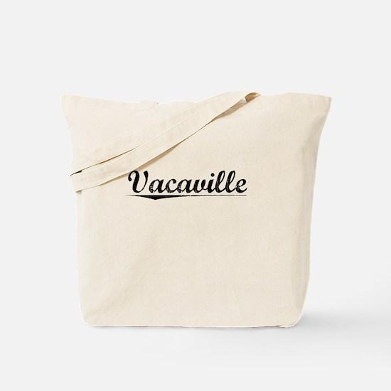 Vacaville, Vintage Tote Bag