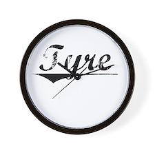 Tyre, Vintage Wall Clock