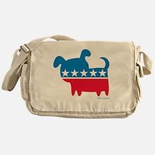 THE DOG PARTY Messenger Bag