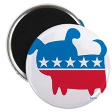 THE DOG PARTY Magnet