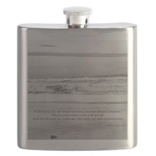 Eleanor Roosevelt Quote Flask
