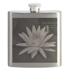 Leo Buscaglia Quote Flask