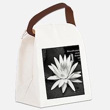 Leo Buscaglia Quote Canvas Lunch Bag