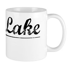 Twin Lake, Vintage Mug