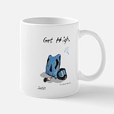 Skydiving Equiptment - Get High Small Small Mug