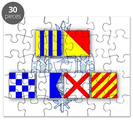 Go Navy Puzzle