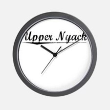 Upper Nyack, Vintage Wall Clock