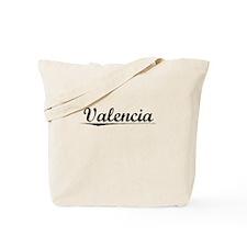 Valencia, Vintage Tote Bag
