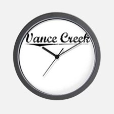 Vance Creek, Vintage Wall Clock