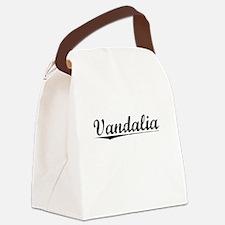 Vandalia, Vintage Canvas Lunch Bag