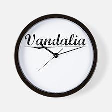 Vandalia, Vintage Wall Clock