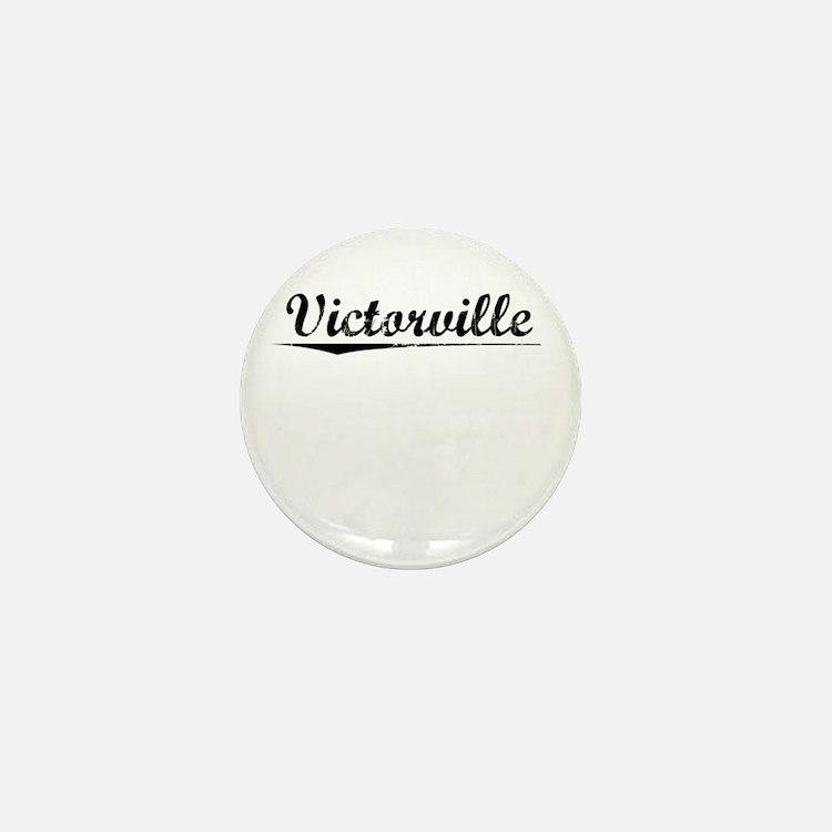 Victorville, Vintage Mini Button