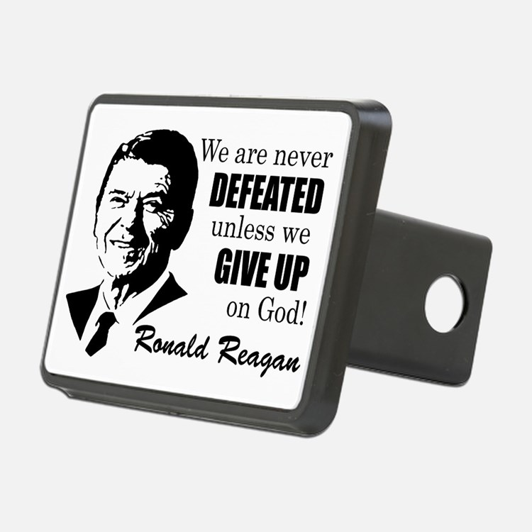 Never Defeated! Hitch Cover