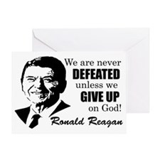Never Defeated! Greeting Card