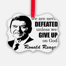 Never Defeated! Ornament
