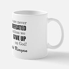 Never Defeated! Mug