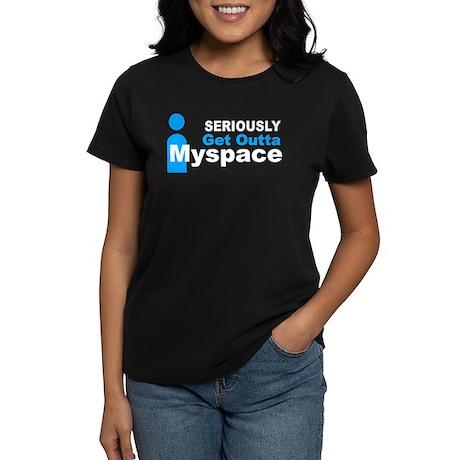 Seriously-Myspace Women's Dark T-Shirt