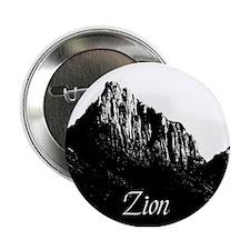 Zion Watchman B&W Button