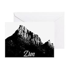 Zion Watchman B&W Greeting Cards (Pk of 10)