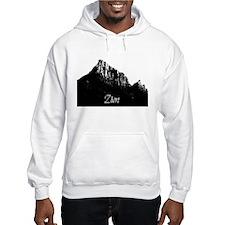 Zion Watchman B&W Hoodie Sweatshirt