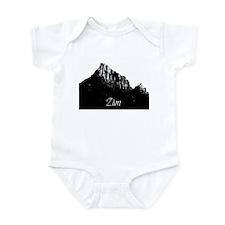 Zion Watchman B&W Infant Bodysuit