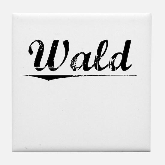 Wald, Vintage Tile Coaster