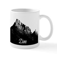 Zion Watchman B&W Mug