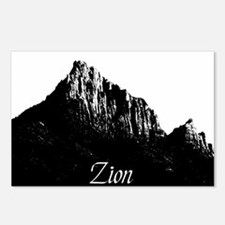 Zion Watchman B&W Postcards (Package of 8)