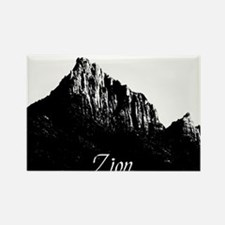 Zion Watchman B&W Rectangle Magnet