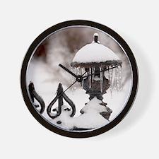 January icicles Wall Clock