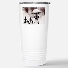 January icicles Travel Mug