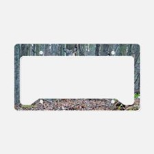 Doe and fawn License Plate Holder