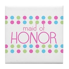 Maid of Honor Tile Coaster