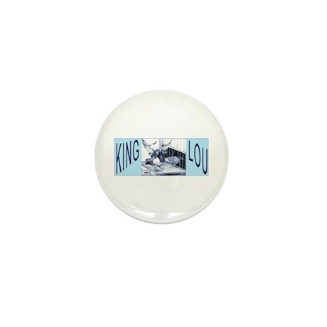 King Lou Homers Mini Button (10 pack)