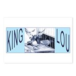 King Lou Homers Postcards (Package of 8)