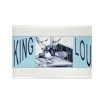 King Lou Homers Rectangle Magnet (10 pack)