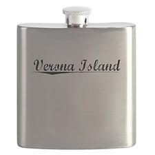 Verona Island, Vintage Flask