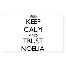Keep Calm and trust Noelia Decal